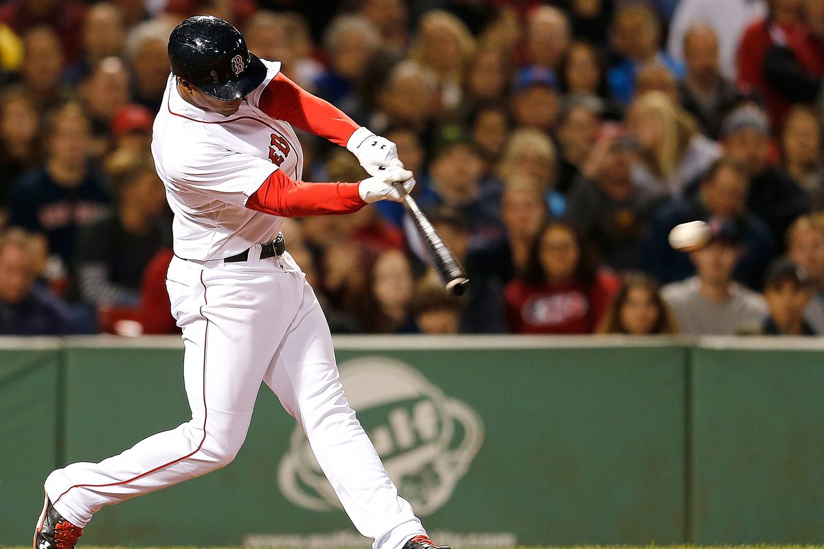 Xander Bogaerts' smooth swing leads the Red Sox list