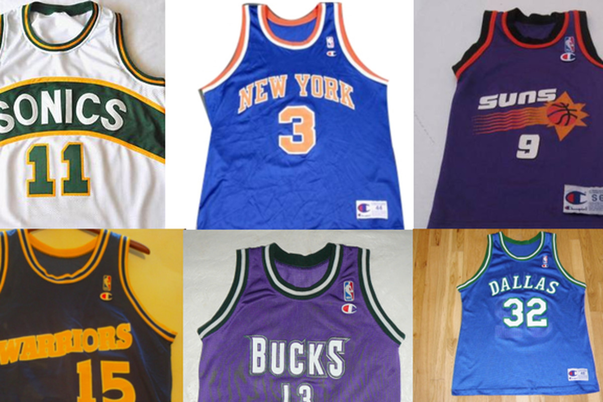 12abf5979 A holiday shopper s guide to the 10 must-have NBA replica jerseys of the   90s