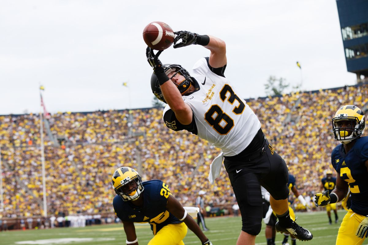 Appalachian State could be a trendy pick among the bolder sports bettors out there.