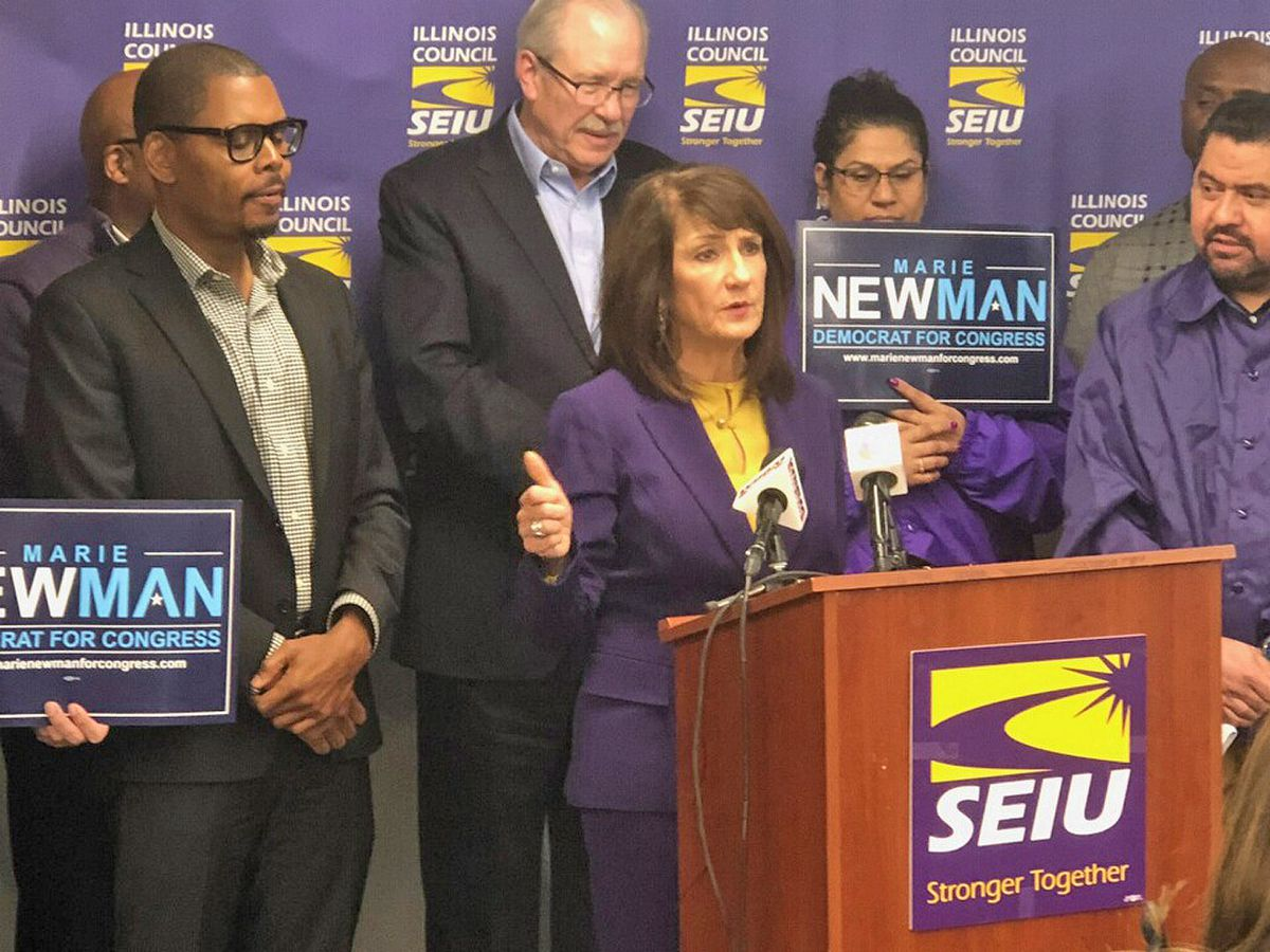 SEIU Illinois State Council is endorsing Marie Newman in the 3rd Congressional District Democratic primary.