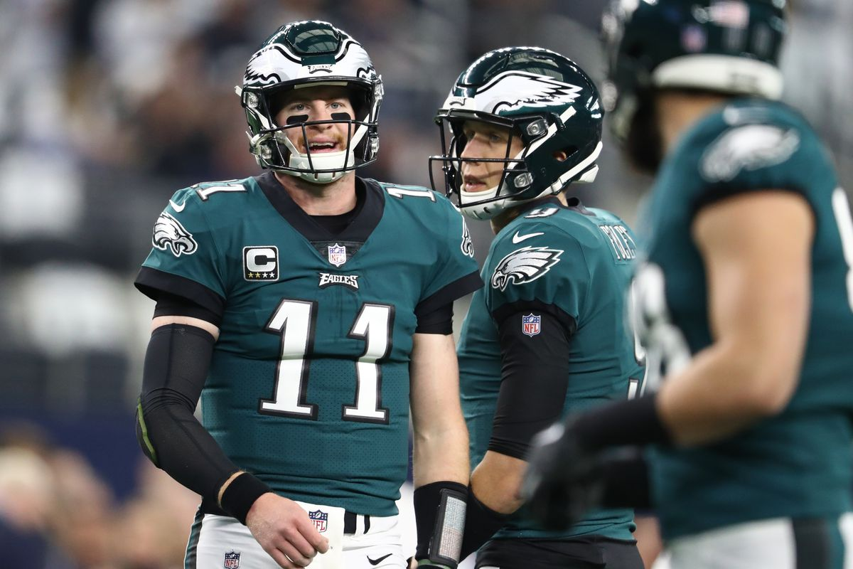 Eagles News  Nick Foles got some help that Carson Wentz wasn t getting 172bfd90f