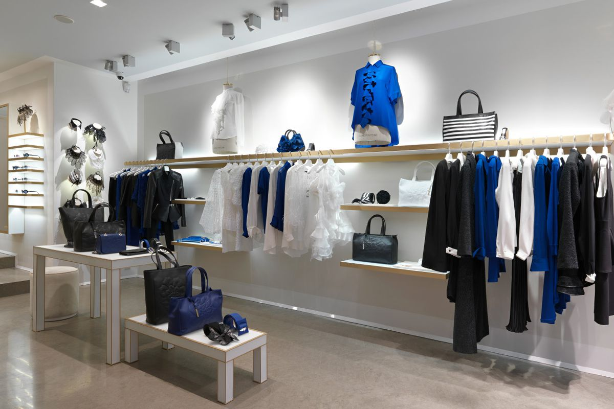 A peek at another store with the new design; Photo courtesy of Anne Fontaine