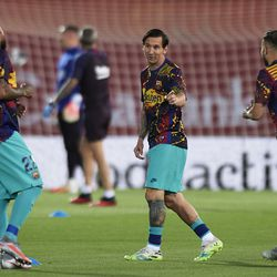 Barcelona looking bright in their warm-up