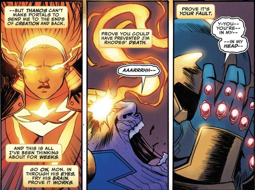 Monica vs Thanos in Ultimates