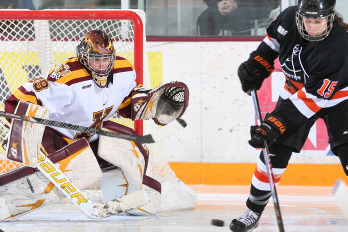 The Gophers last hosted Princeton at Ridder Arena in 2013
