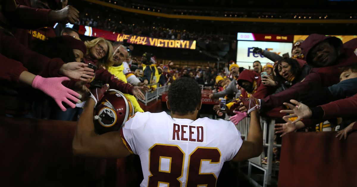 Jordan Reed still in concussion protocol 6 months later, Redskins expected to move on