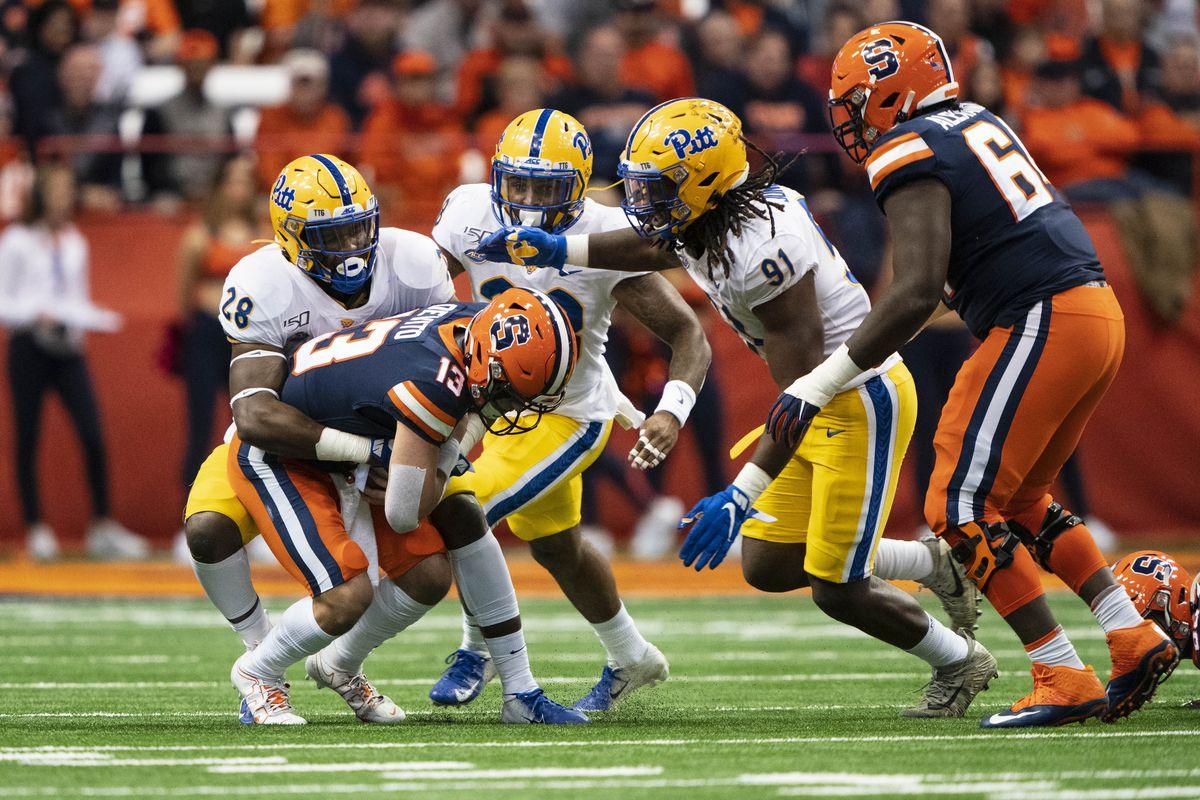 COLLEGE FOOTBALL: OCT 18 Pitt at Syracuse