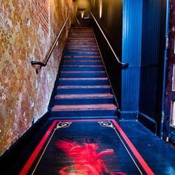The stairway to Black Jack.