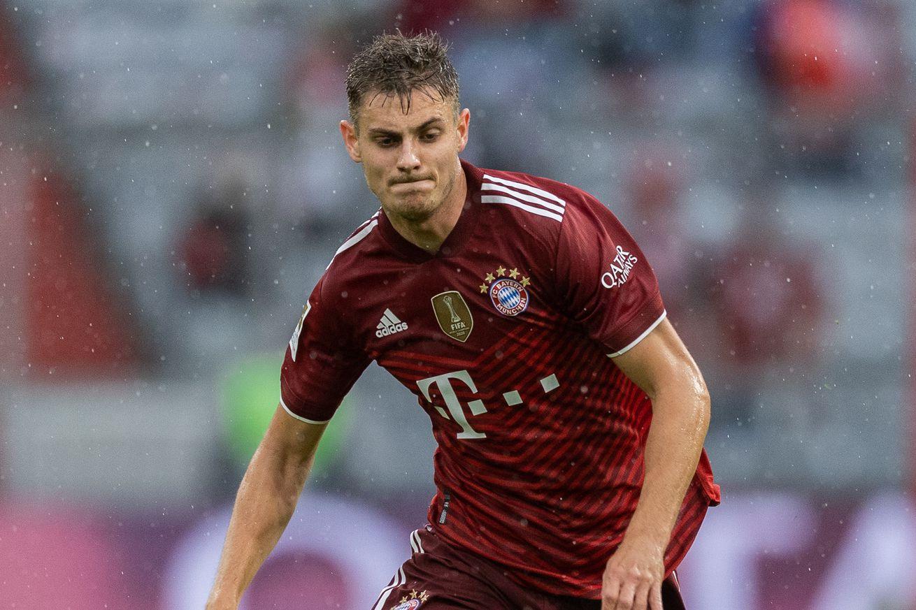 Bayern Munich?s Josip Stanisic reacts to Croatia call-up
