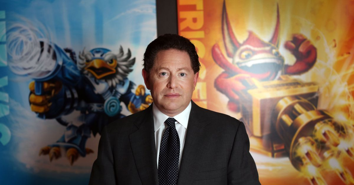 Read Activision Blizzard CEO Bobby Kotick's letter addressing the harassment allegations