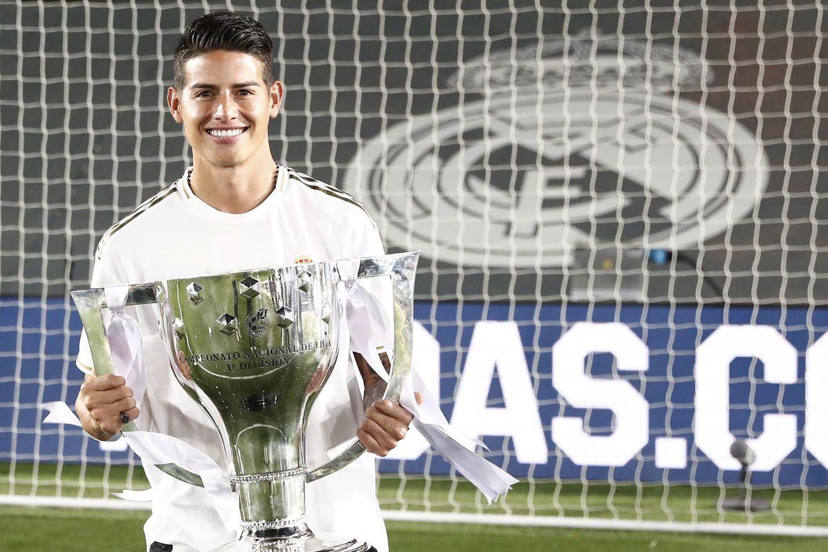 Real Madrid Celebrates Winning La Liga 2020