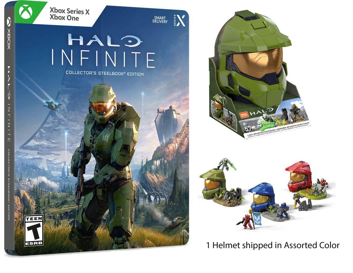 Walmart's Halo Infinite Steelbook Edition