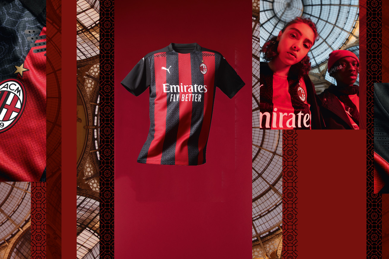 Official: AC Milan Reveal 2020/21 Home Jersey