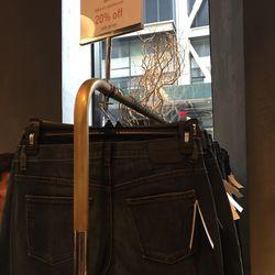 Indigo jeans, $35.20