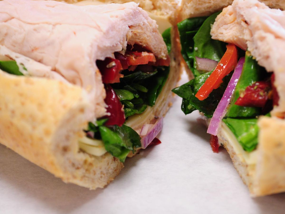 A sub from Tucci's
