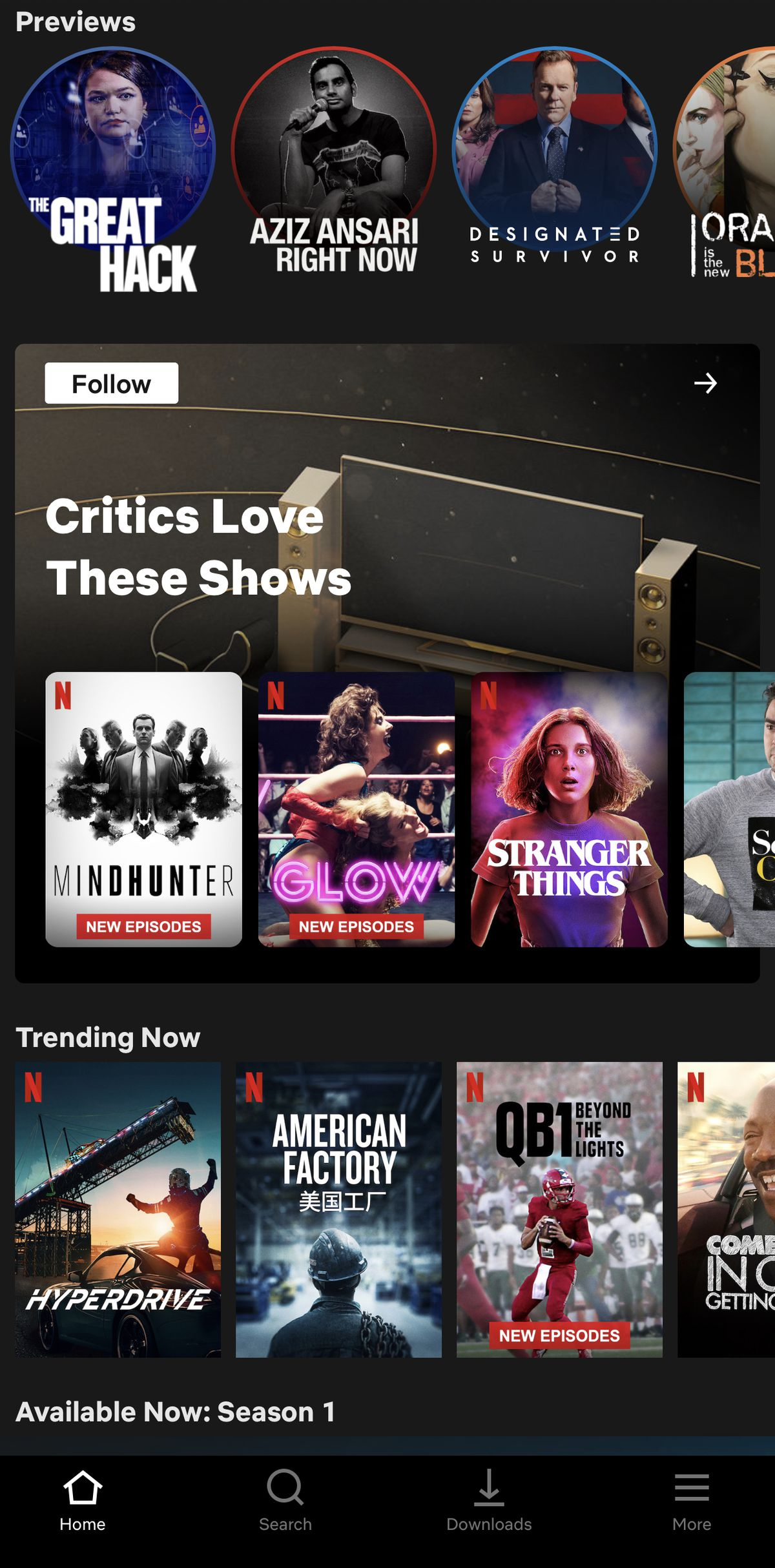 Netflix tests Collections that are curated by humans instead