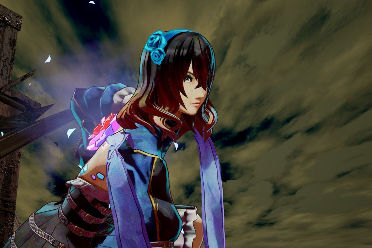Maria appears in a screenshot from Bloodstained: Ritual of the Night