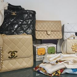 Chanel bags for $1800 to $2400.