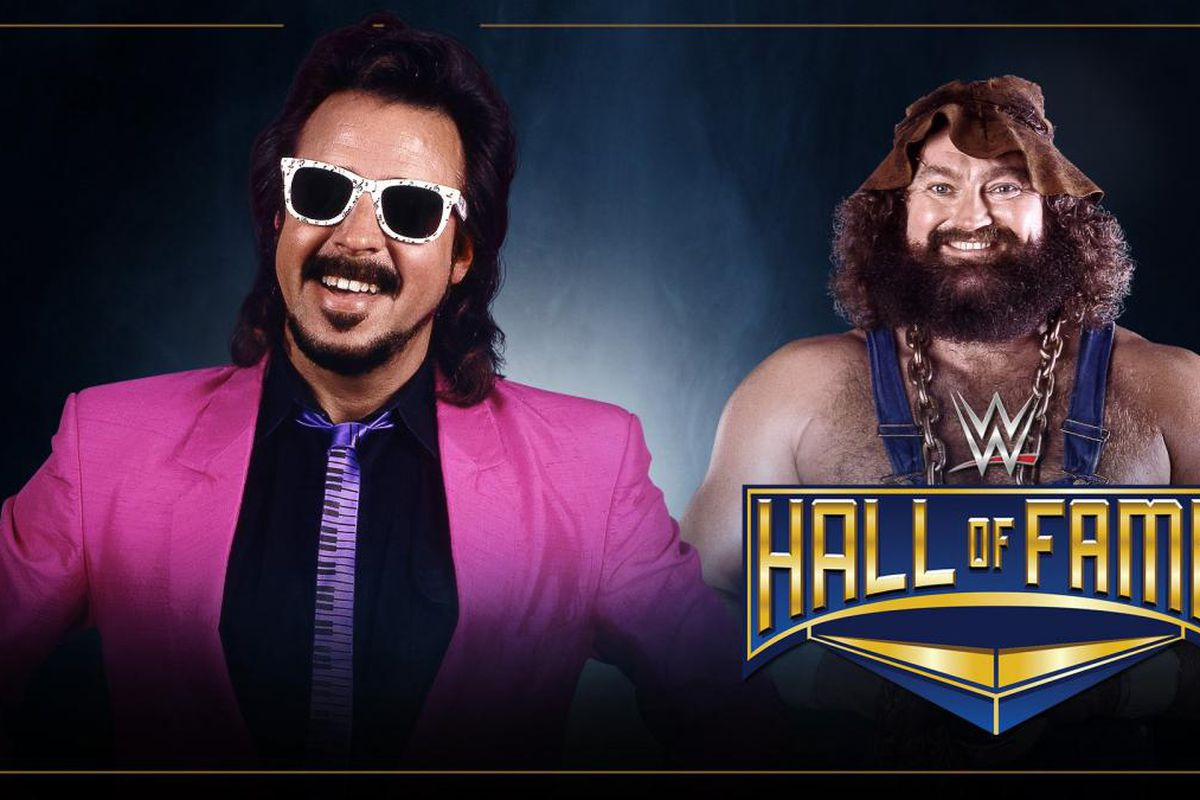 Image result for Jimmy Hart to induct Hillbilly Jim into the WWE Hall of Fame