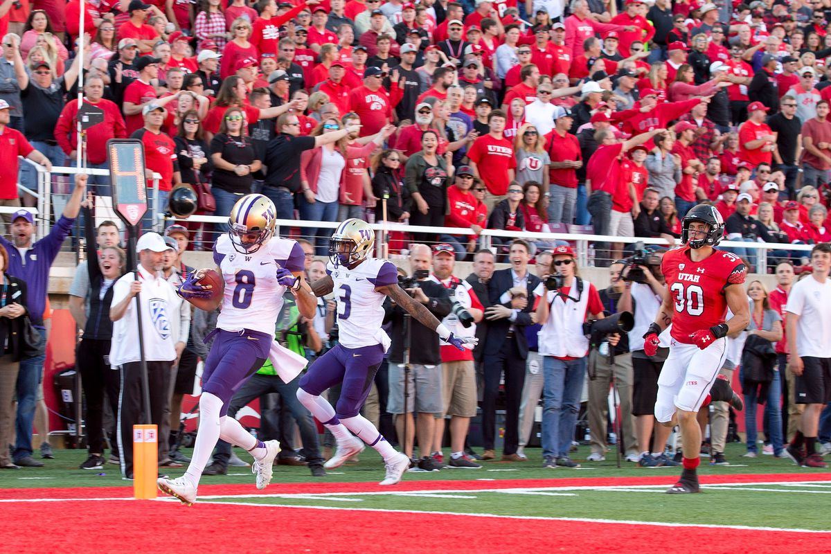 NCAA Football: Washington at Utah