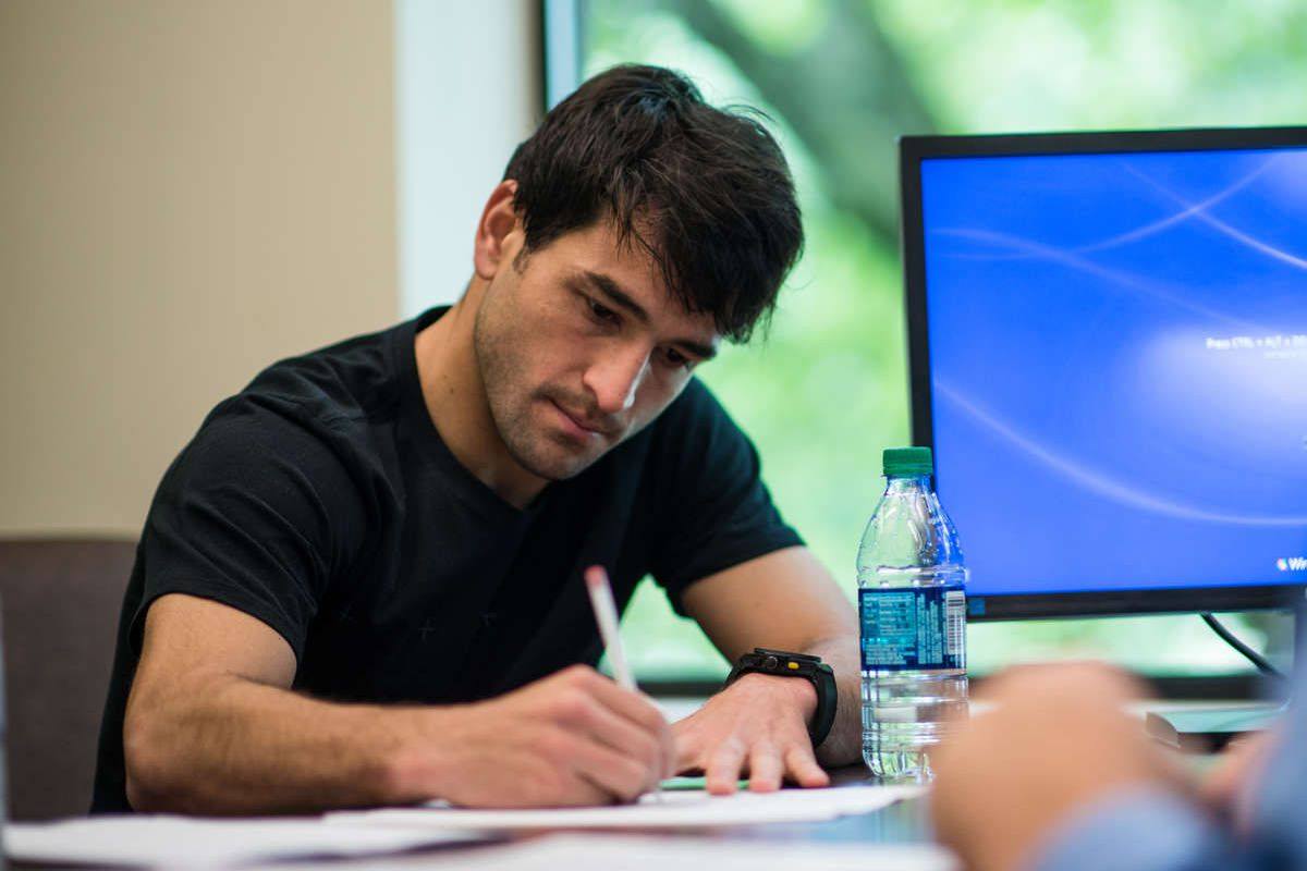 Lodeiro contract signing