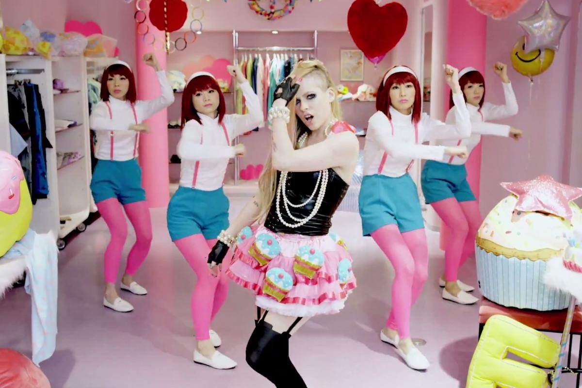 The Economics Behind Avril Lavignes Creepy Hello Kitty Video Vox