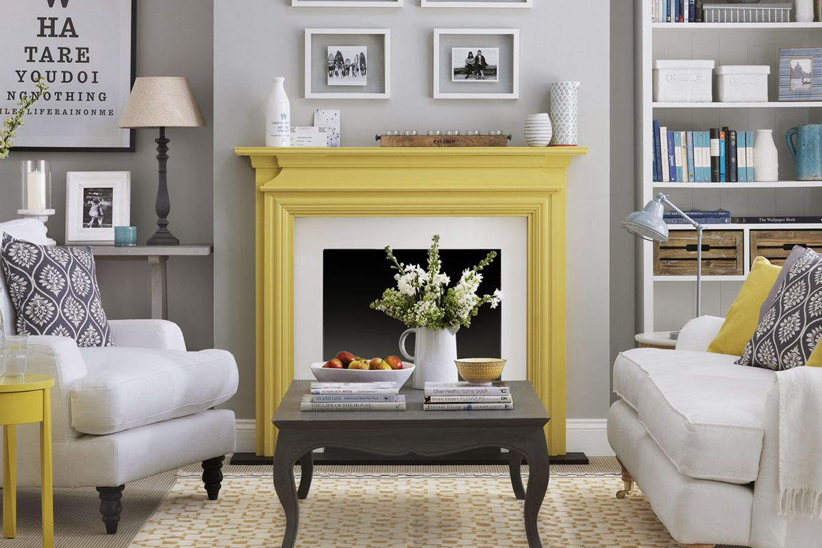 Colorize Your Mantel This Old House