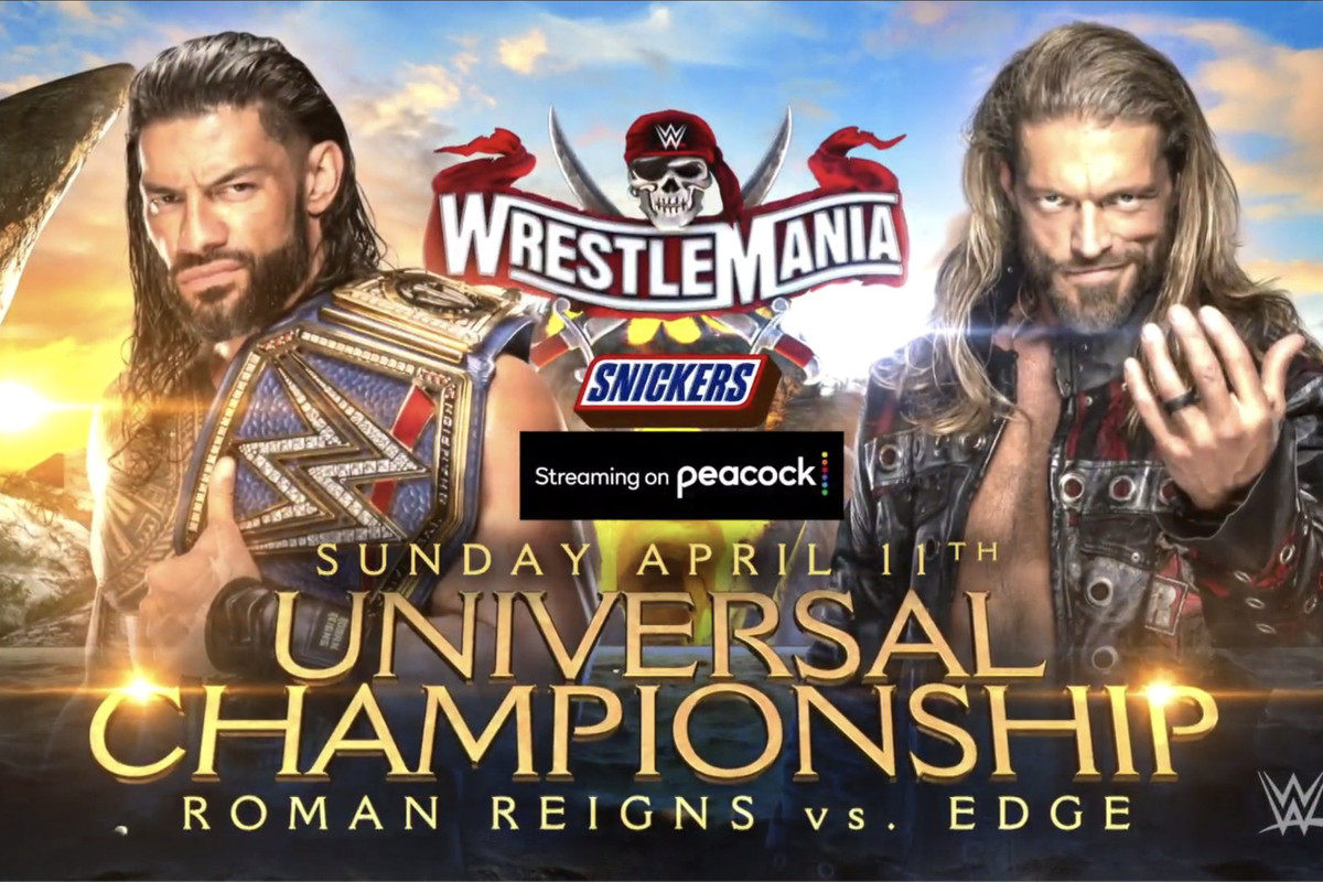 Here S How Wwe Is Breaking Up The Wrestlemania 37 Match Card So Far Cageside Seats