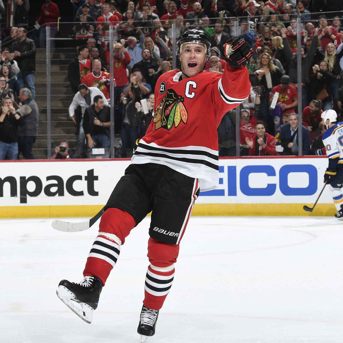 buy online 81738 1a22b NHL All-Star Game 2019: Blackhawks' Jonathan Toews part of ...