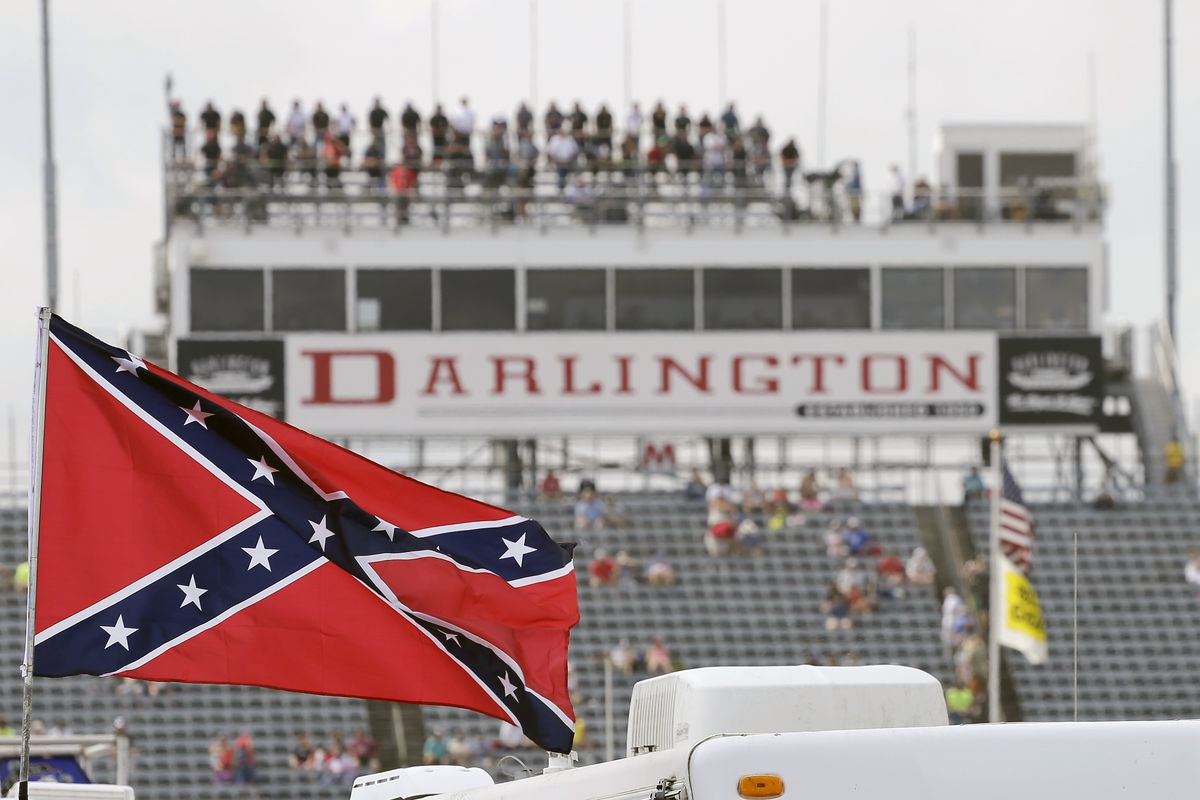 NASCAR has banned the display of the Confederate flag at its events.