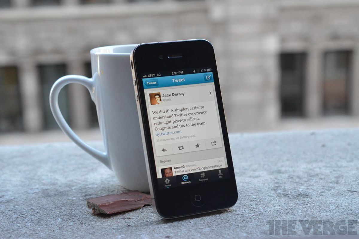 Twitter Redesign iPhone app
