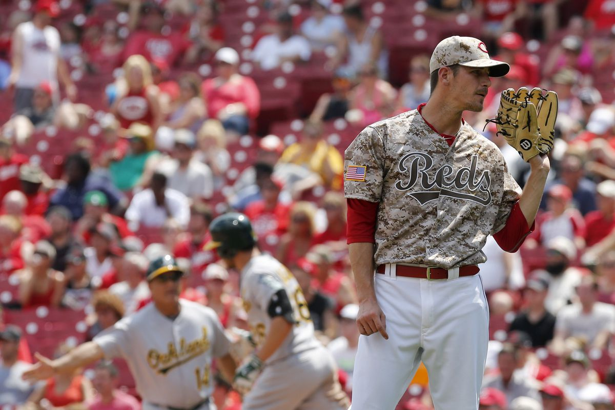 MLB: Oakland Athletics at Cincinnati Reds