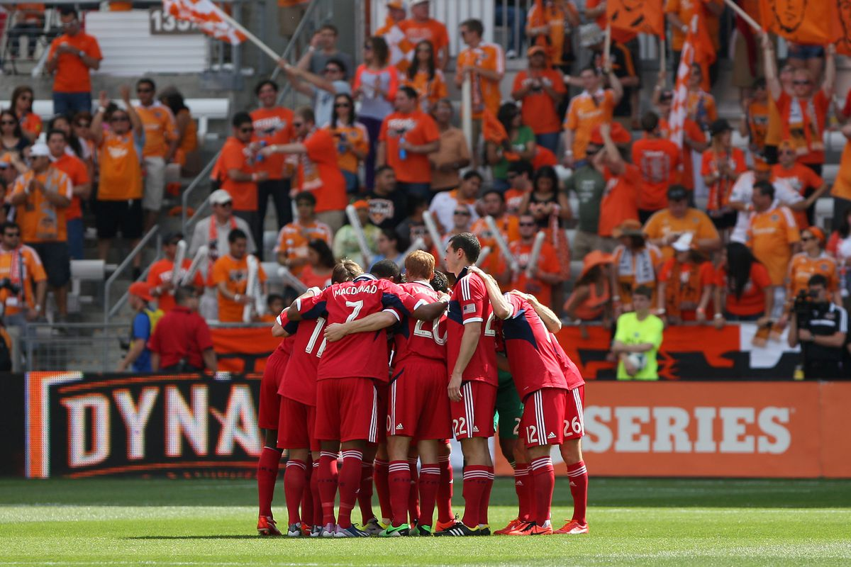 Eleven men against several thousand in a steamy, orange-themed malarial swamp - welcome to the playoff race, Fire!