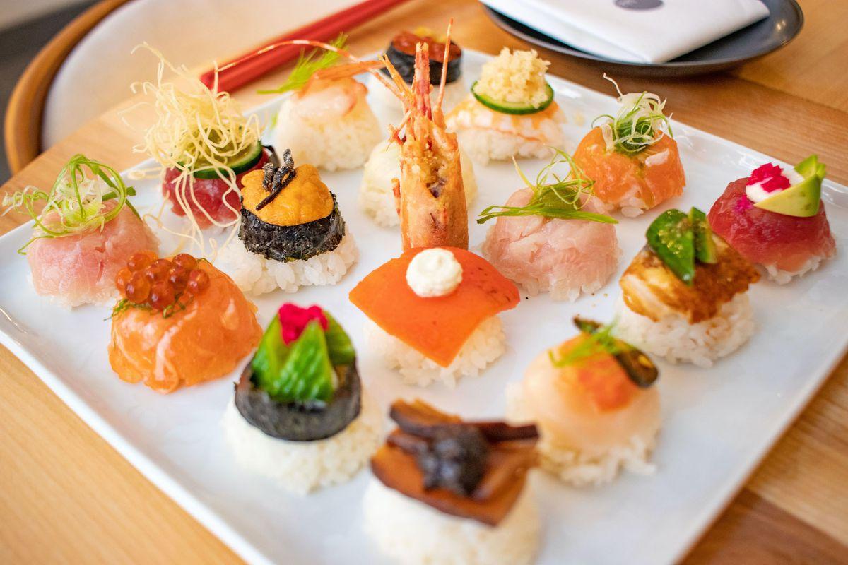 sushi bomb style nigiri