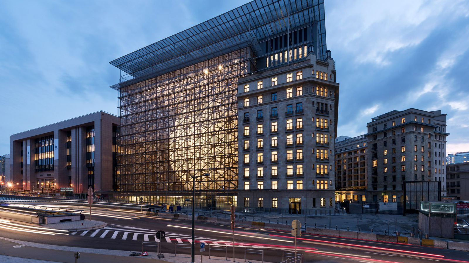 The European Union Just Got A Massive New Office Curbed