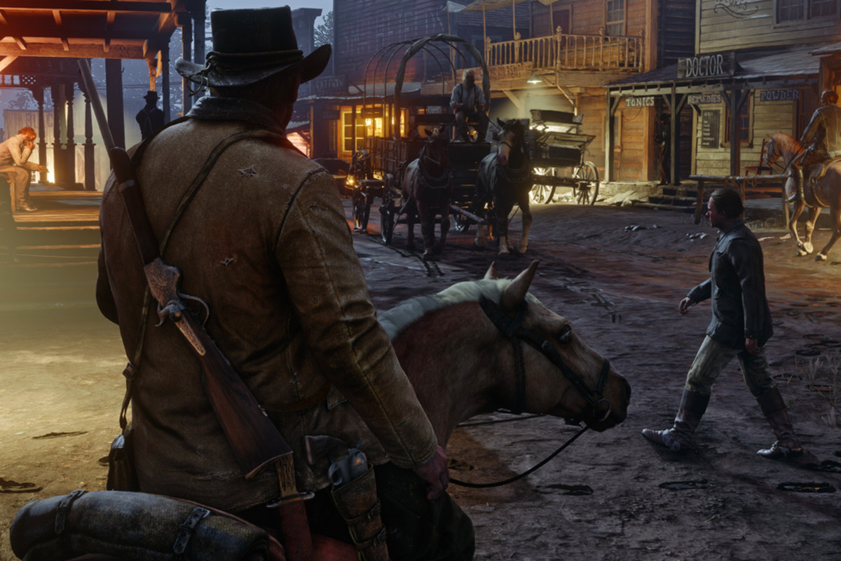 Red Dead Redemption 2 horse riding fails are tragically