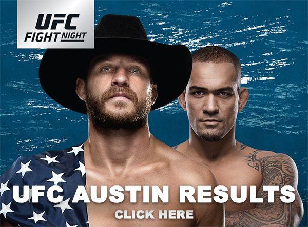 UFC Austin Results