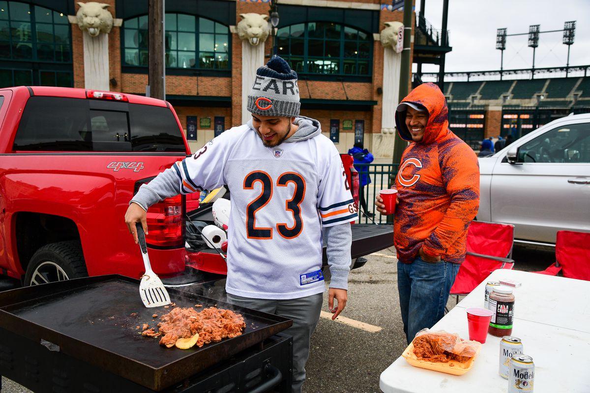 NFL: NOV 28 Bears at Lions