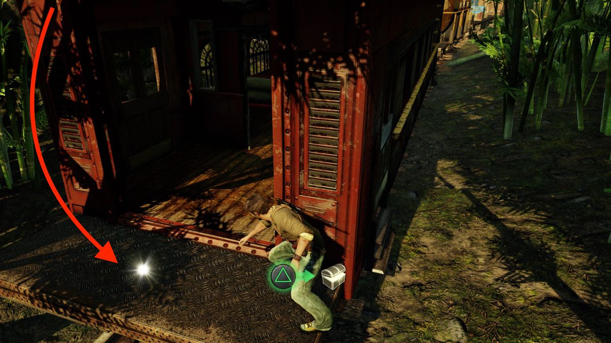Uncharted 2: Among Thieves 'Locomotion' treasure locations