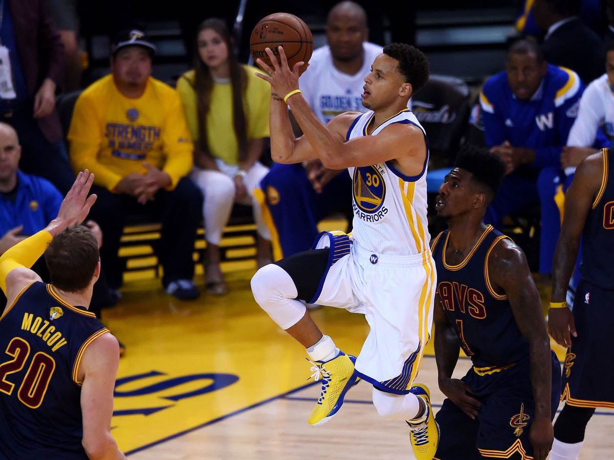 Stephen Curry on the Golden State Warriors