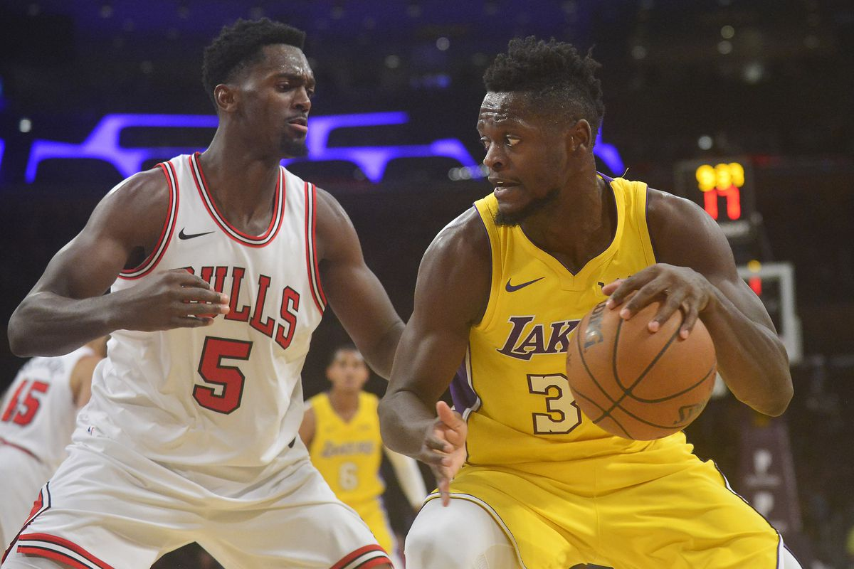 lakers vs. bulls: start time, tv schedule and game preview - silver