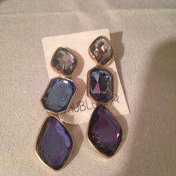 Drop earrings, $5
