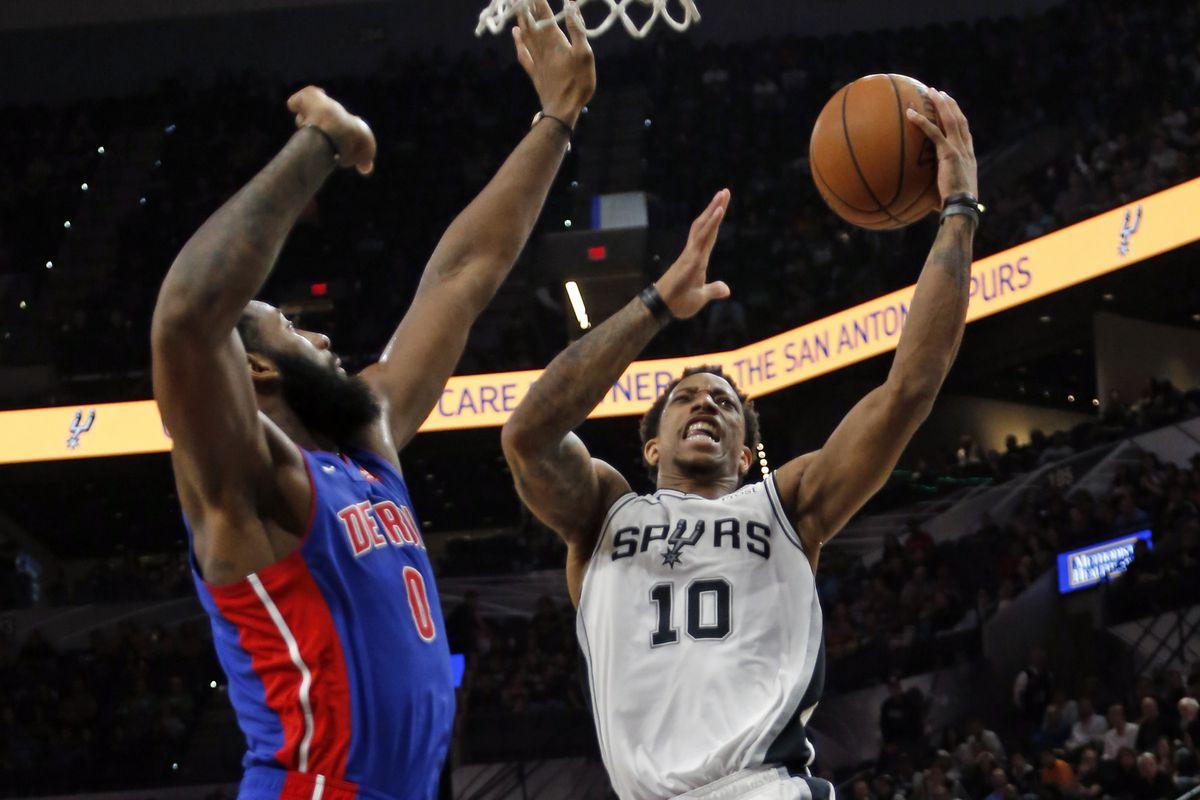 Detroit Pistons v San Antonio Spurs