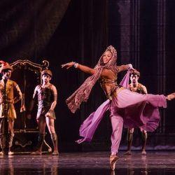 Dancer Erica Lynette Edwards.