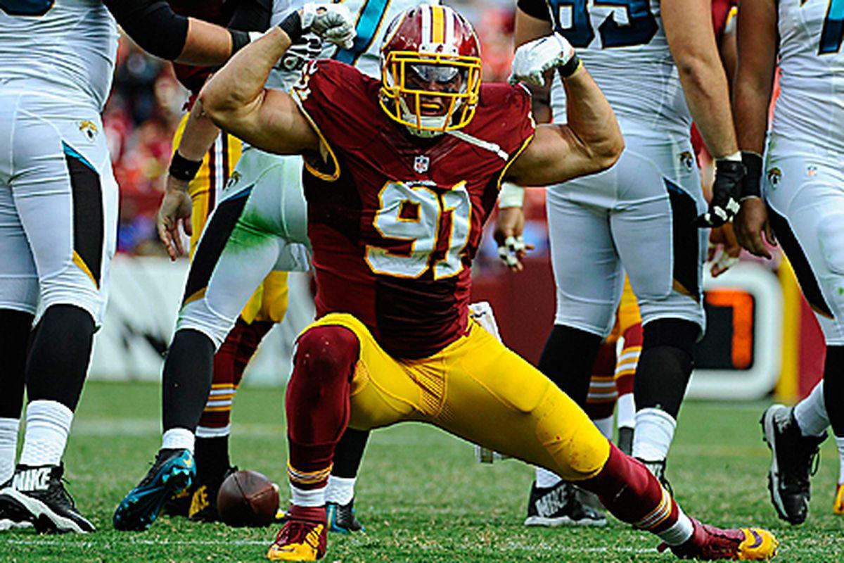 Washington Redskins Player Profiles Ryan Kerrigan Hogs Haven