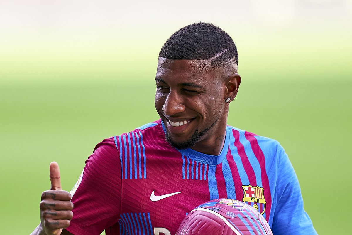 FC Barcelona Unveils New Signing Emerson Royal