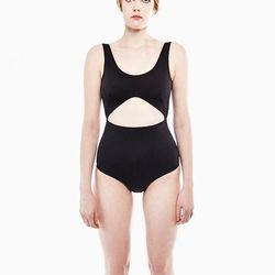 """Waiwah 'Nixie' one-piece, <a href=""""http://swords-smith.com/products/waiwah-nixie-black-one-piece"""">$198</a> (down from $248) at Swords-Smith"""
