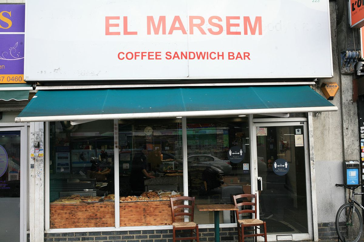 El Marsem on the Old Kent Road, a sandwich bar that opened during the Covid-19 pandemic