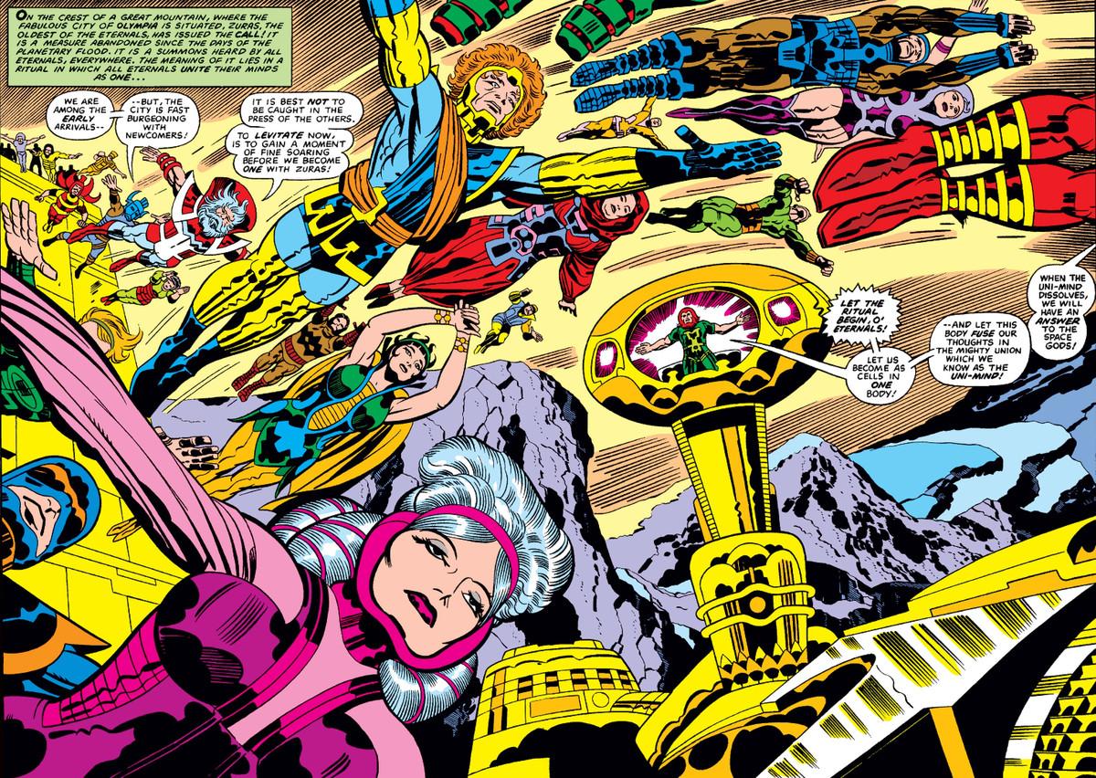 The Eternals #11, Marvel Comics (1977).