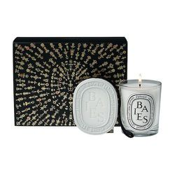 """<strong>Diptyque</strong> Baies Scented Oval and Candle Gift Set, <a href=""""http://us.spacenk.com/Baies-Scented-Oval-and-Candle-Gift-Set/MUK200011387,en_US,pd.html?start=7&cgid=SPUK20406"""">$98</a> at Space NK"""